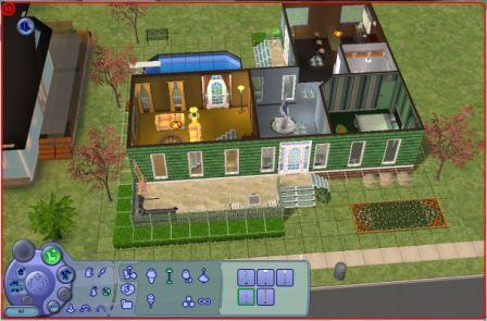 Beginilah hasil akhir interior rumah ... & Tutorial Membangun Rumah Dengan The Sims   Kyon\u0027s room