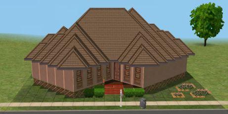 Korean House tampak depan