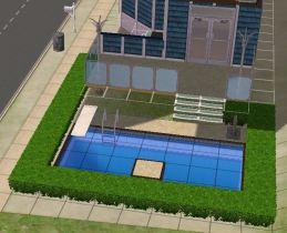 Ocean Land swimming pool view