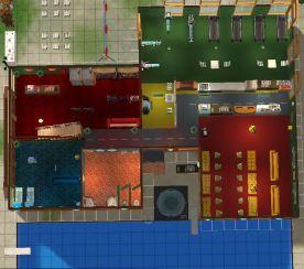 Sheppuden Amusement Center tampak atas lt1