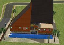 Sheppuden Amusement Center tampak samping kiri at day